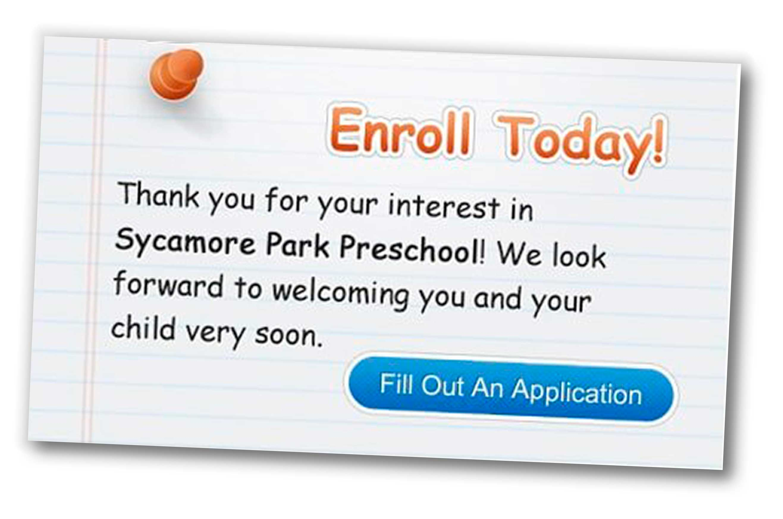 Sycamore Park Preschool & Child Care Center - Enroll Today